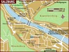 Map of Salzburg