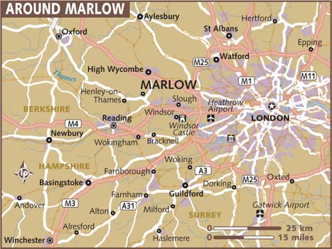 Map of Marlow