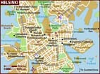 Map of Helsinki