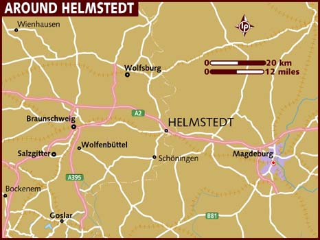 Map of Helmstedt