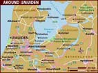 Map of IJmuiden