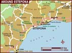Map of Estepona