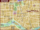 Map of Esfahan