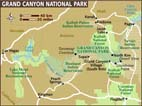 Map of Grand Canyon