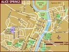 Map of australia - Alice springs tourist office ...