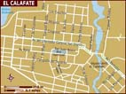 Map of El Calafate