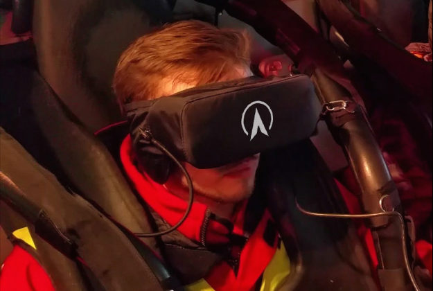 Galactica is a new rollercoaster on which passengers will wear virtual reality headsets.