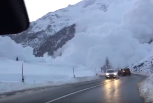 how to get through an avalanche