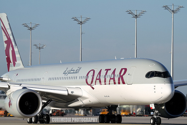 Qatar Airways A350 XWB.