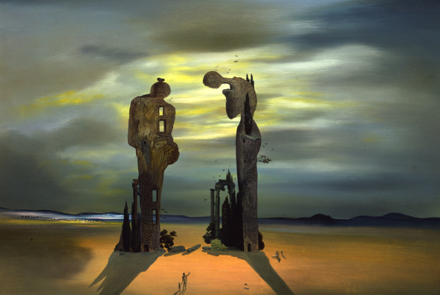 Salvador Dali, Archeological Reminiscence of Millet's Angelus, 1933-35.