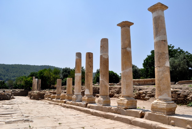 The ancient city of Stratonikeia.