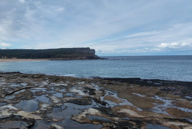 The rock pools at Sydney's Royal National Park are relatively inaccessible.