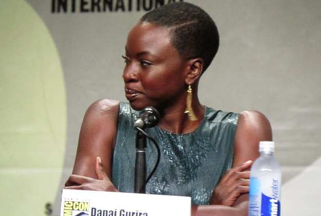 Danai Guirira, a Walking Dead actor pictured here at Comic-Con, will make an appearance on the cruise.