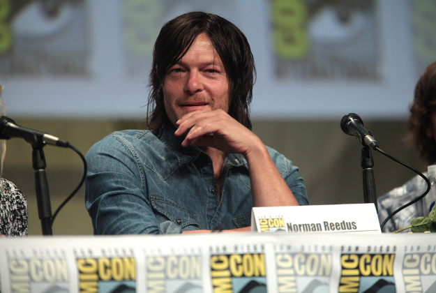 Normas Reedus, a Walking Dead actor pictured here at Comic-Con, will make an appearance on the cruise.