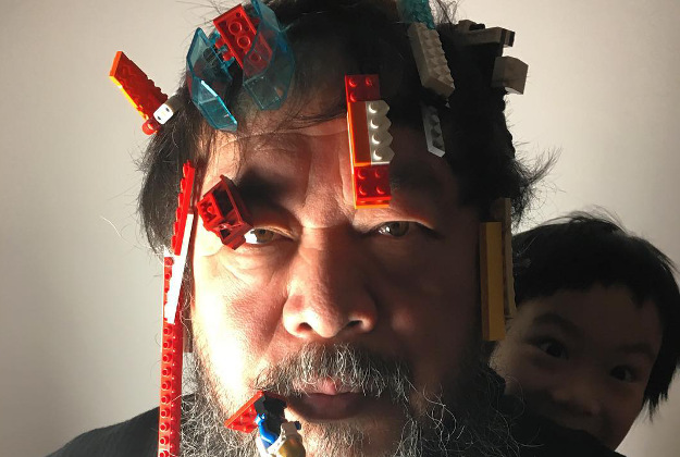 Aiweiwei was pleased by the Danish toymaker's decision
