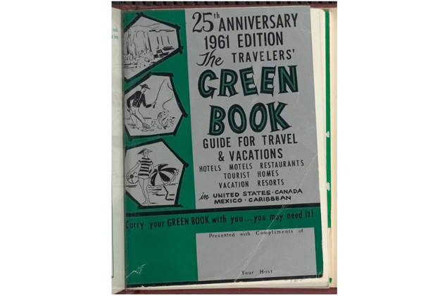 Cover of the 1961 Green Book.