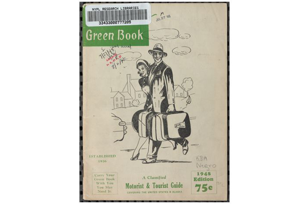 Cover of the 1948 Green Book.