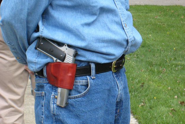 A new open carry law in Texas will allow guns in certain areas of airports.