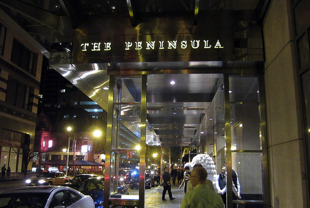 The Peninsula Hotel, Chicago.