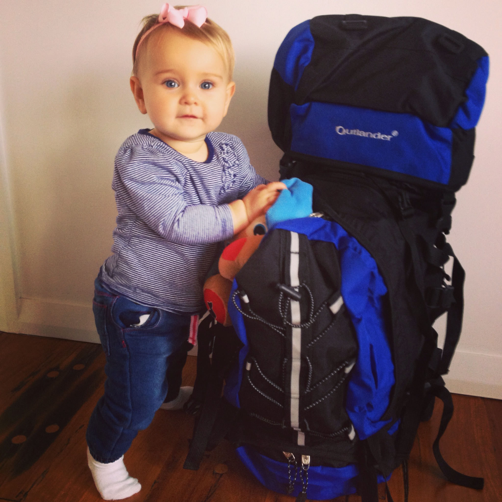 Meet backpacking baby Esmé and her travel mad mum