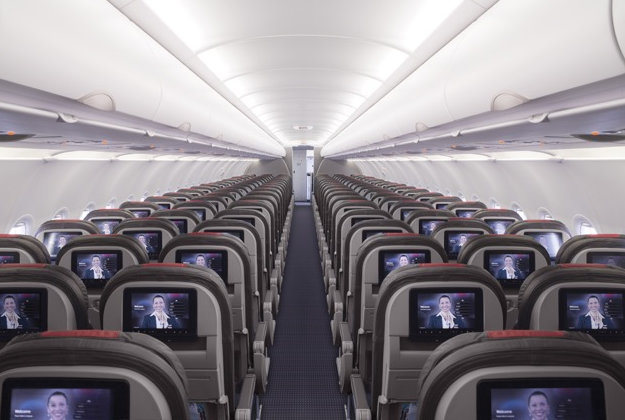 American Airlines have revamped their entertainment system.
