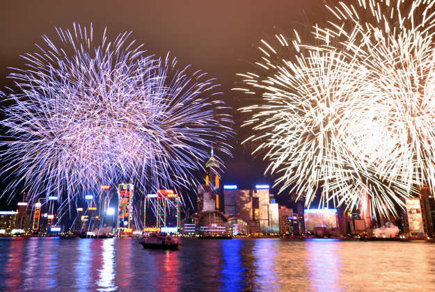 Lunar New Year fireworks banned in China.