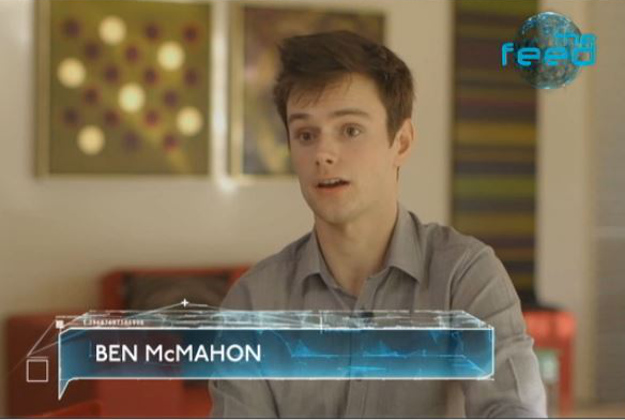 Ben McMahon is on If You Are The One.