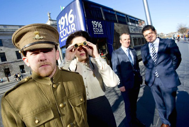 Dublin Bus Tours has launched a new 1916 tour of the city.