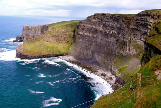 The Cliffs of Moher on the Wild Atlantic Way.