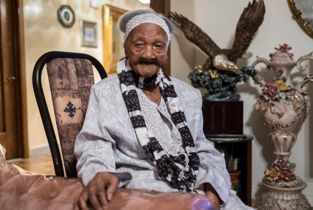 Cecilia Laurent is thought to be the oldest woman alive