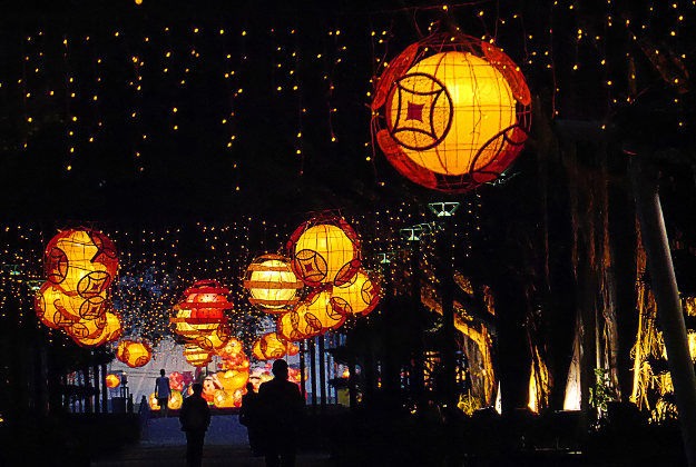 Macau during Lunar New Year.