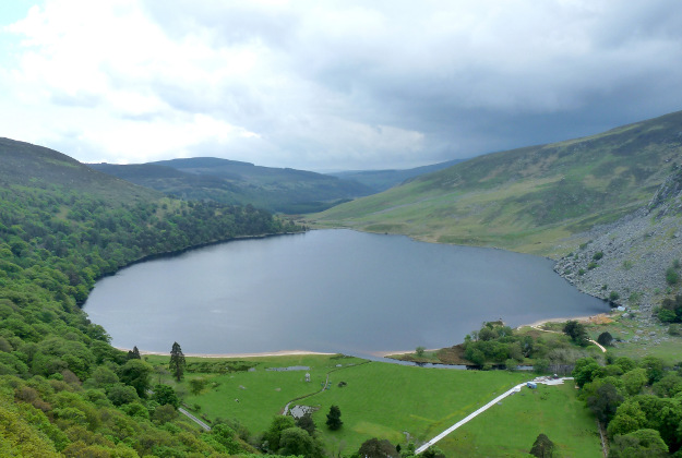 Lough Tay, Luggala, Co Wicklow.