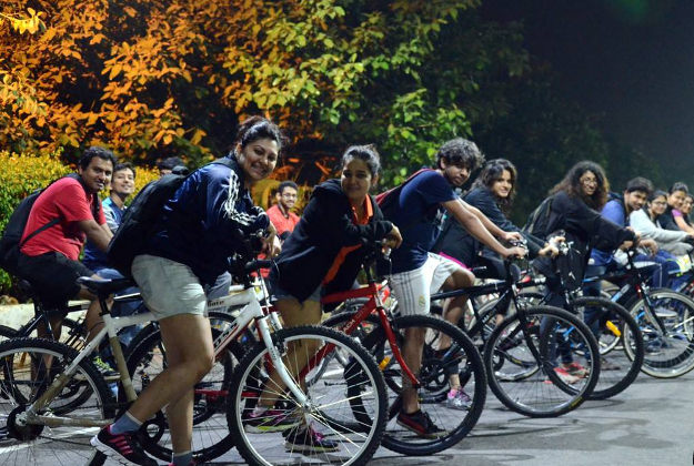 Mumbai midnight cycles are a popular way to explore the city