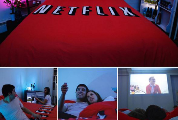 Netflix and Chill room will be around for just two months