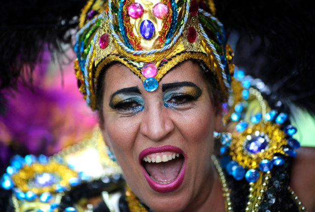 The carnival keeps up apace in Rio de Janeiro