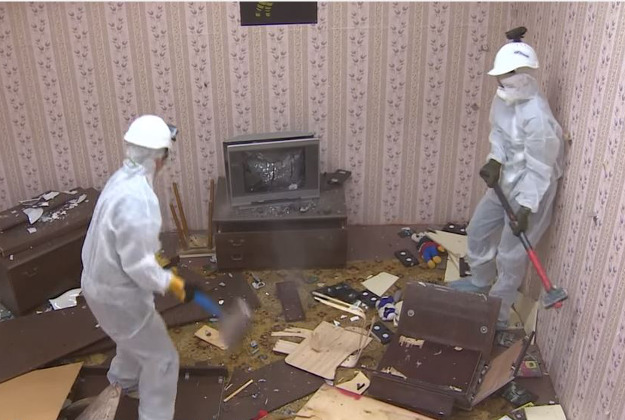 Rage rooms in Moscow