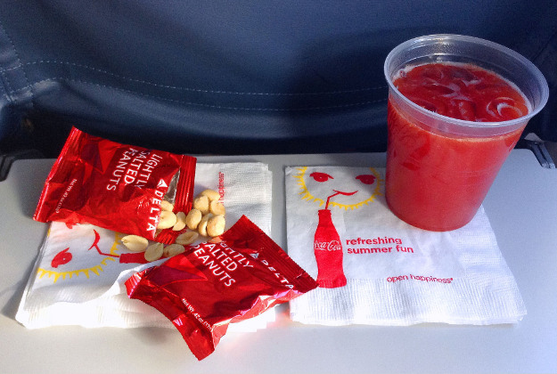 Airline snack.