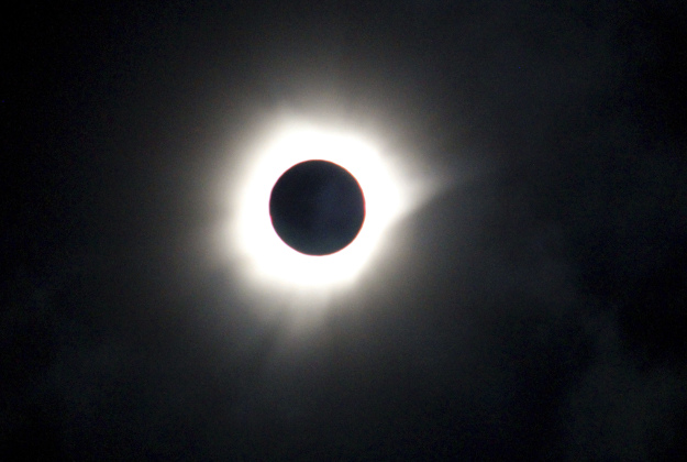 A total solar eclipse is seen in Luwuk, Central Sulawesi, Indonesia, Wednesday, March 9, 2016. A total solar eclipse was witnessed along a narrow path that stretched across Indonesia while in other parts of Asia a partial eclipse was visible.
