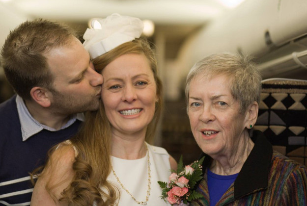 Kirsty's mother Billie Jo wanted to see her daughter get married.