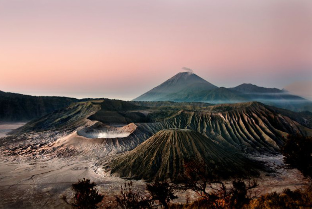 Morning in Bromo, East Java.