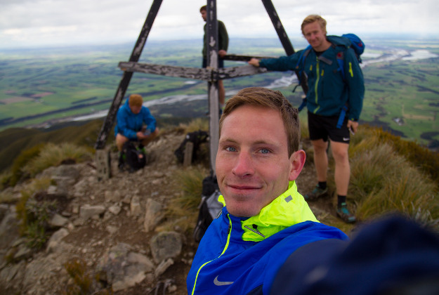 Andreas Orset's new job is hiking around Norway for a year.