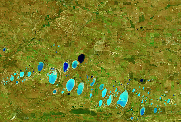 Can you guess what area of Earth this is? NASA's Earth Observatory would like you to