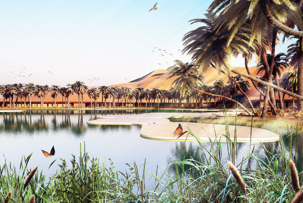Plans for the world's greenest eco resort, set to open in the United Arab Emirates in 2020.