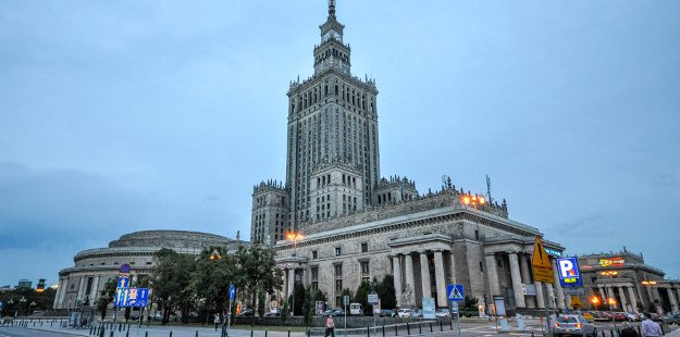 Warsaw's Palace of Culture and Science is to have a 'beach' created around it so that locals can use it for the long, hot summer
