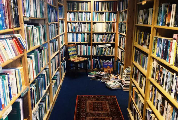 The Open Book is in Wigtown, Scotland's National Book Town