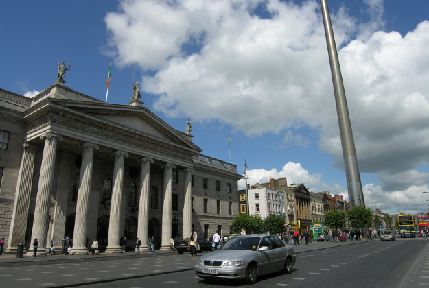 The General Post Office in Dublin.