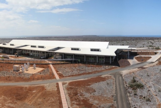 Galapagos Ecological Airport was built on Baltra Island