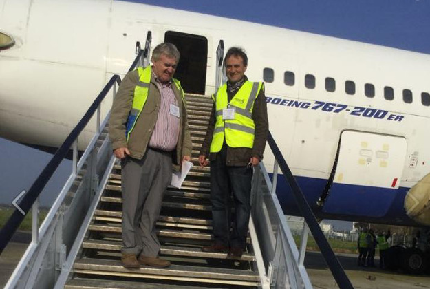 David McGowan who bought the Boeing 767