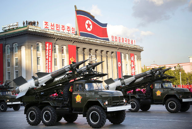 North Korea's parade of missiles