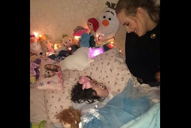 Adele visited a sick girl in Belfast